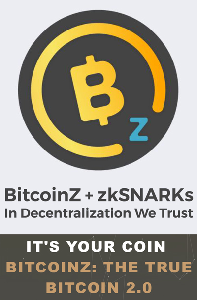 Bitcoinz Private Digital Currency