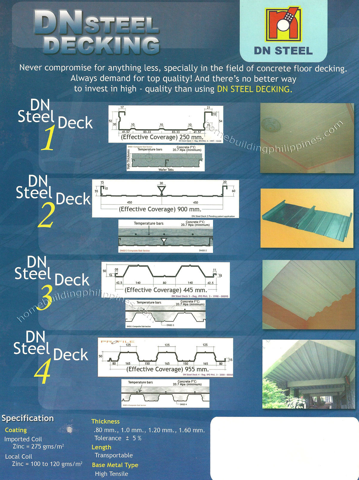 Dn Steel Decking Philippines