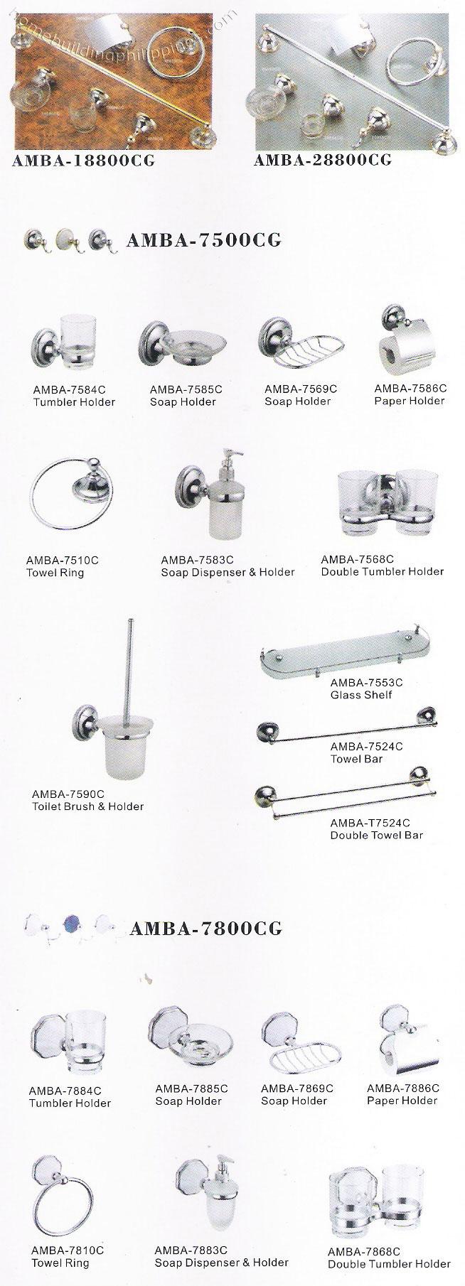 Bathroom soap holder toilet paper dispenser towel ring for Bathroom accessories philippines