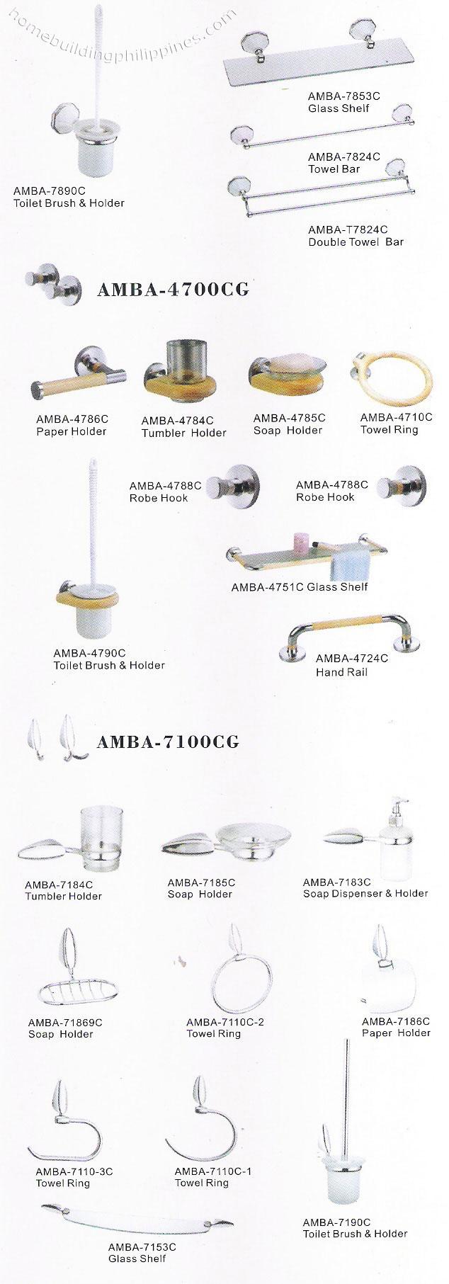Bathroom tumbler holder soap dispenser towel bar philippines for Bathroom accessories philippines