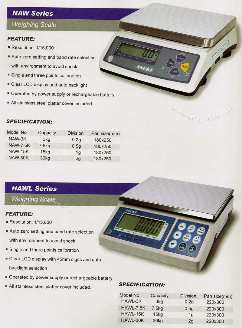 Asuki Electronic Weighing Scale Philippines