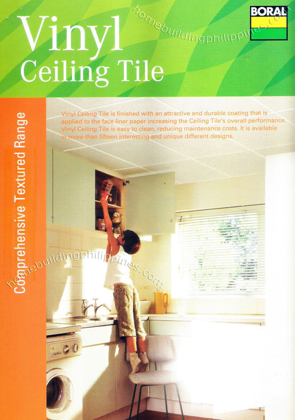 Vinyl Ceiling Tile Textured Plasterboard Philippines
