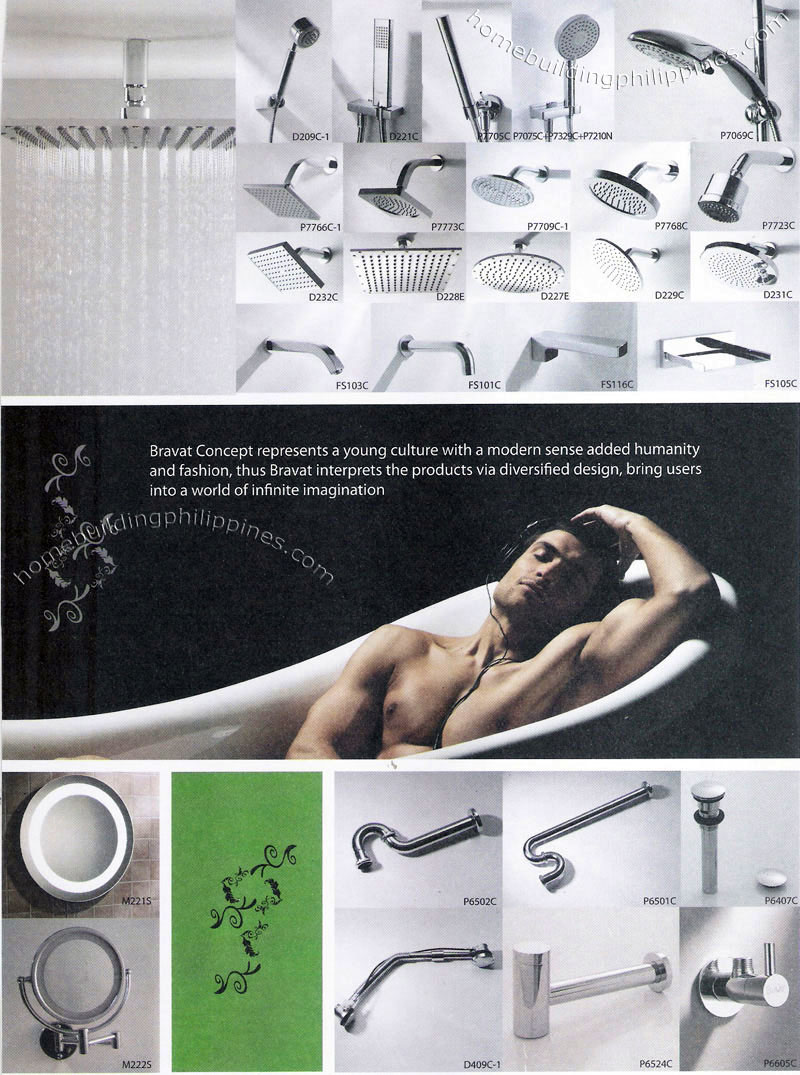 Bathroom accessories showers traps mirrors philippines for Bathroom accessories philippines
