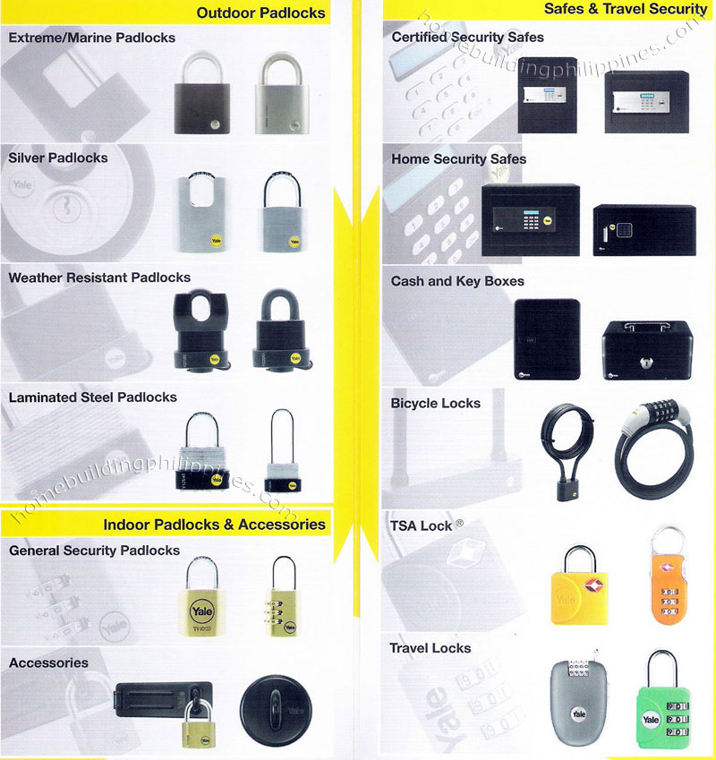 Padlocks Safes Vaults Travel Security Philippines