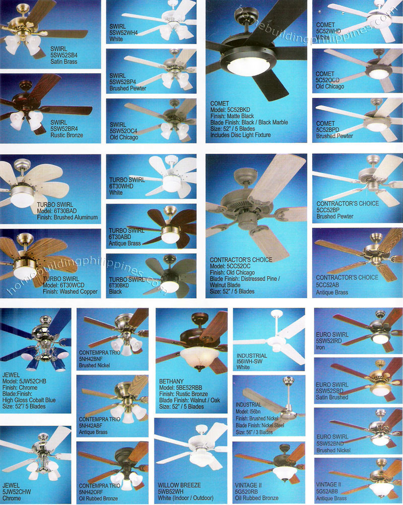 Residential Commercial Ceiling Fans Philippines