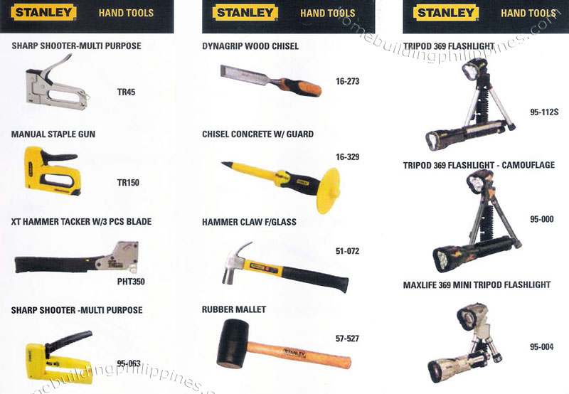 Stanley Hand Tools Sharp Shooter Staple Gun Hammer Tacker Wood