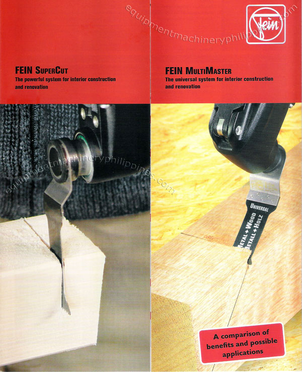 FEIN SuperCut Power Tools for Interior Construction and
