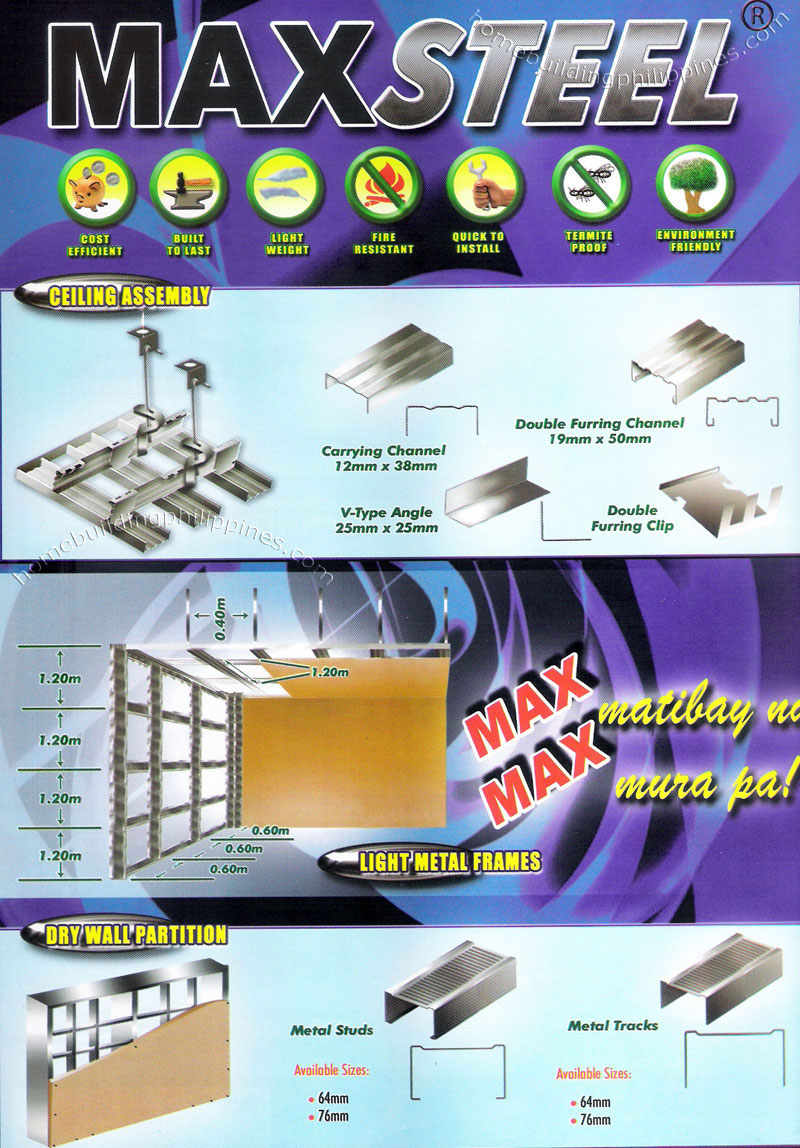 Metal Ceiling Assembly Light Metal Frames Dry Wall