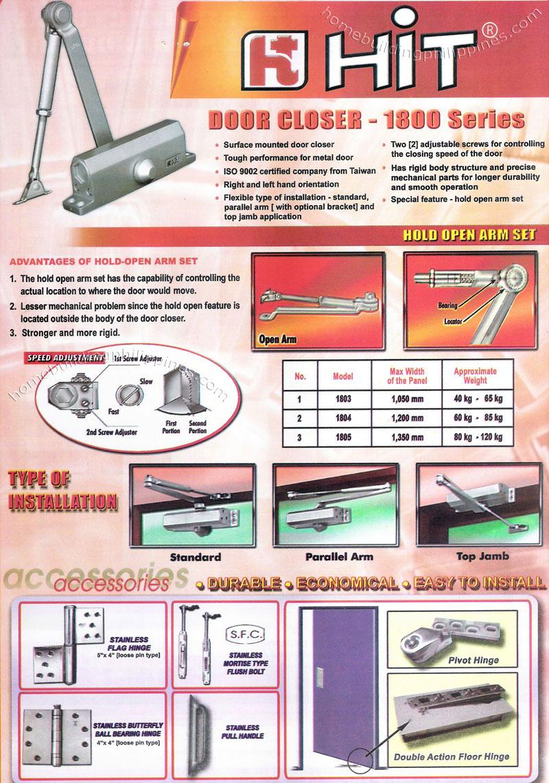 Hit Door Closer Amp Accessories Philippines