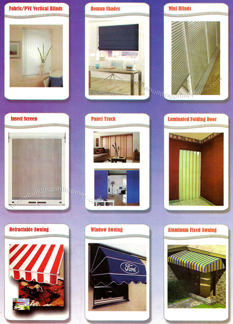 Fabric Pvc Blinds Roman Shades Insect Screen Panel