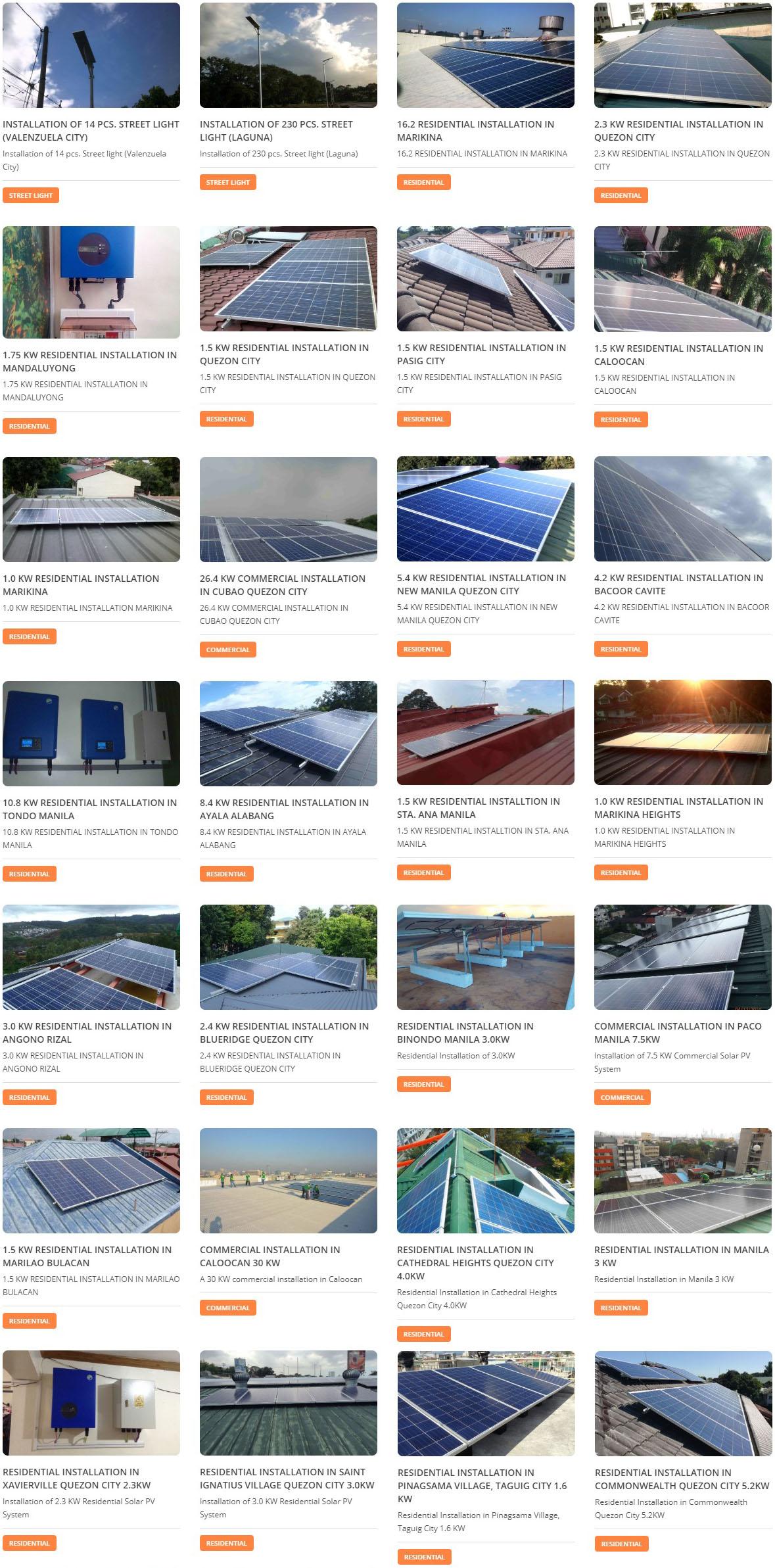 Solar Panel Installation Contractor Philippines