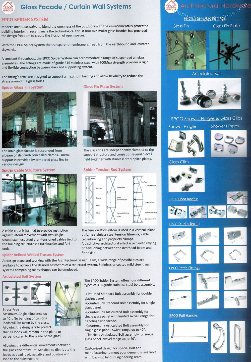 Glass Facade Curtain Wall System By Epco Philippines