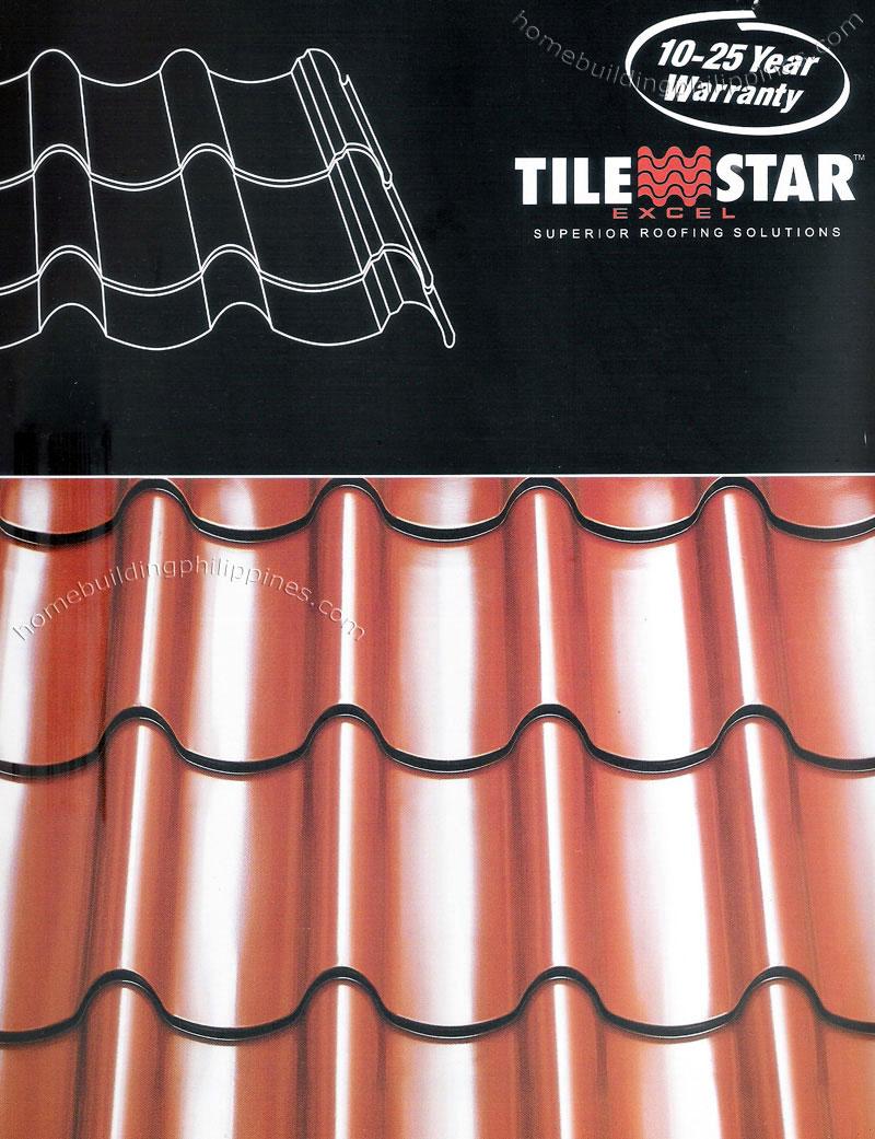 Color coating excel - Tilestar Excel Roofing