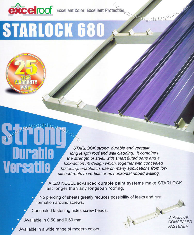 Starlock 680 Roofing System By Excel Coil Coating