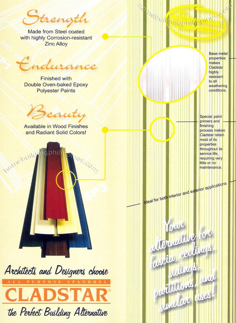 Color coating excel - Cladstar All Purpose Spandrel