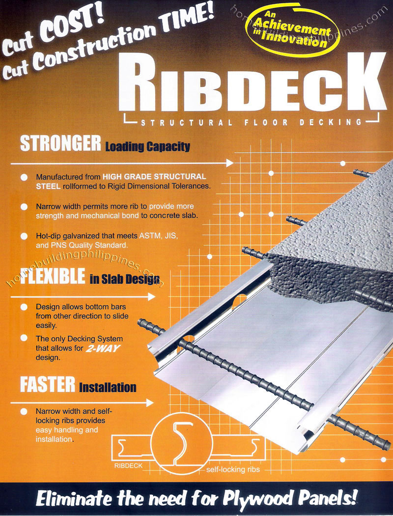 Ribdeck Structural Floor Decking By Excel Coil Coating
