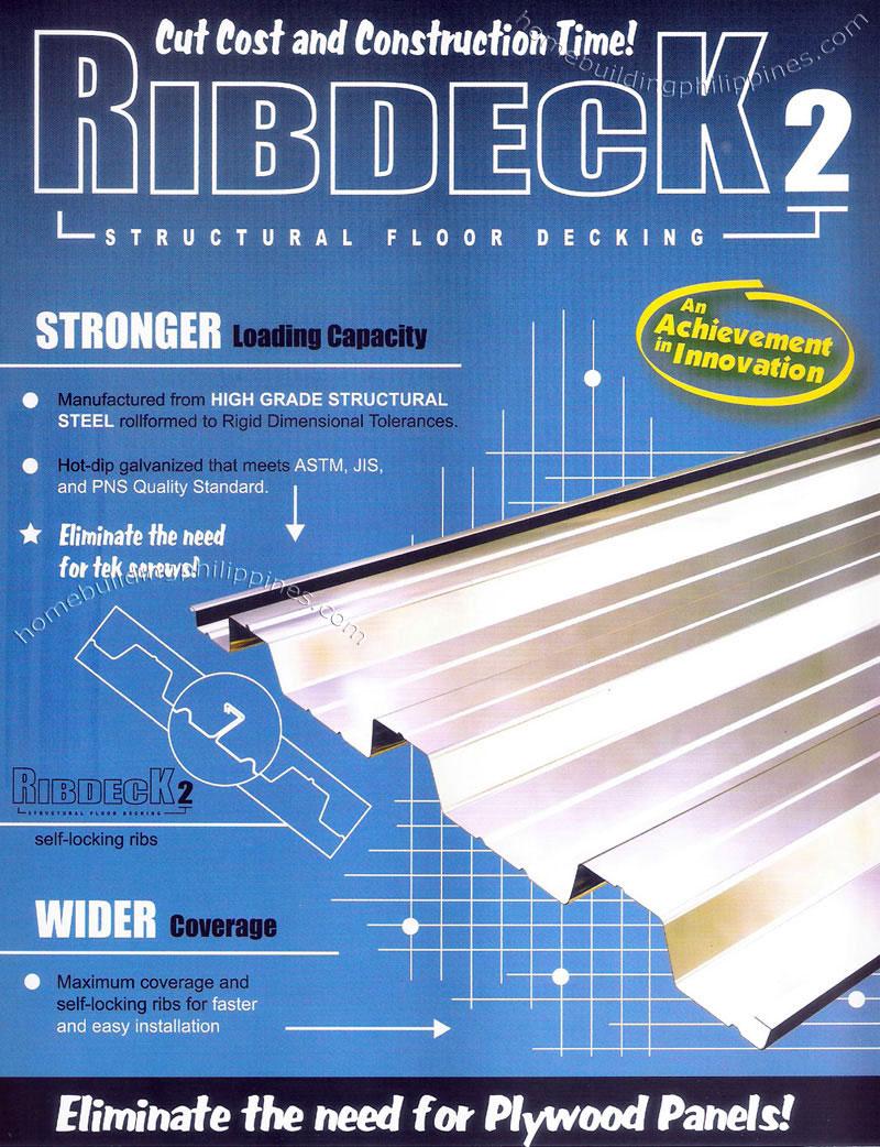 Structural Floor Metal Decking Steel Deck Flooring