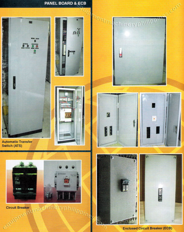 Automatic Transfer Switch Circuit Breaker Enclosed