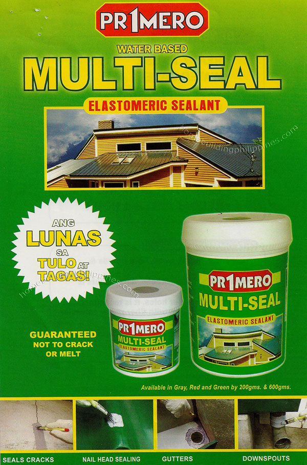 Primero Water Based Multi Seal Elastomeric Sealant Philippines