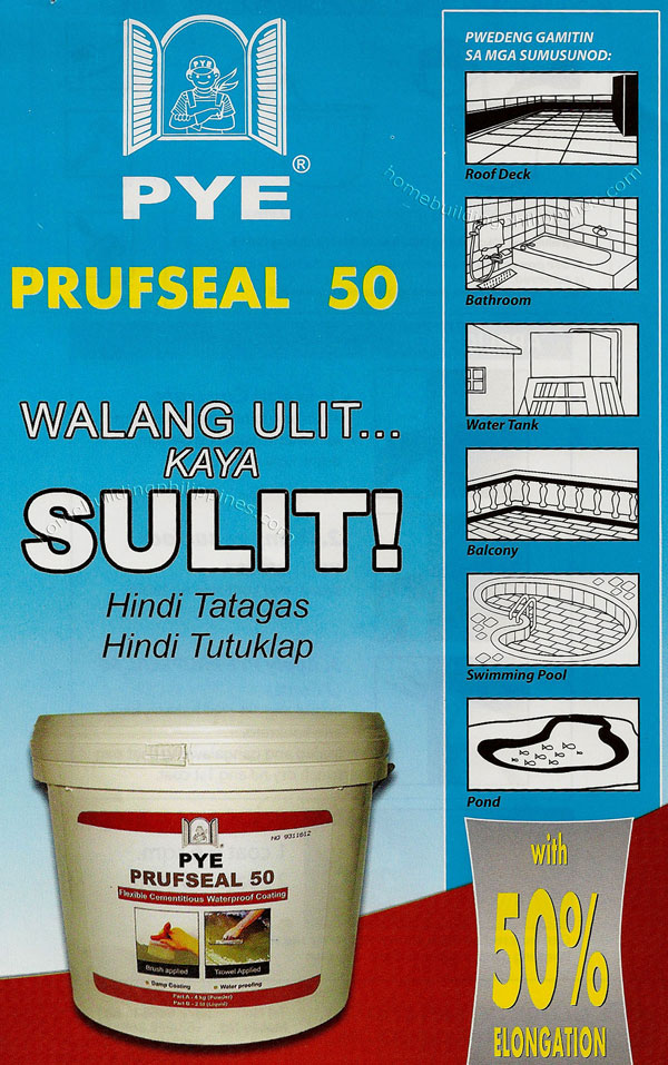 Pye Prufseal 50 Flexible Cementitious Waterproof Coating