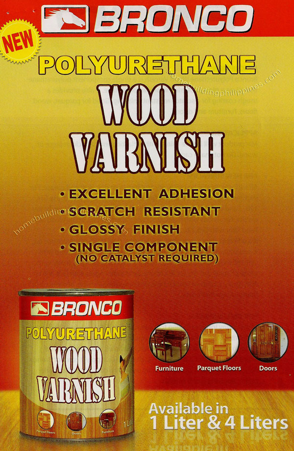 Bronco Polyurethane Wood Varnish Philippines