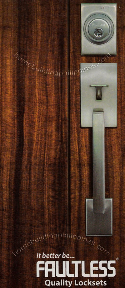 Faultless Quality Door Locksets Philippines