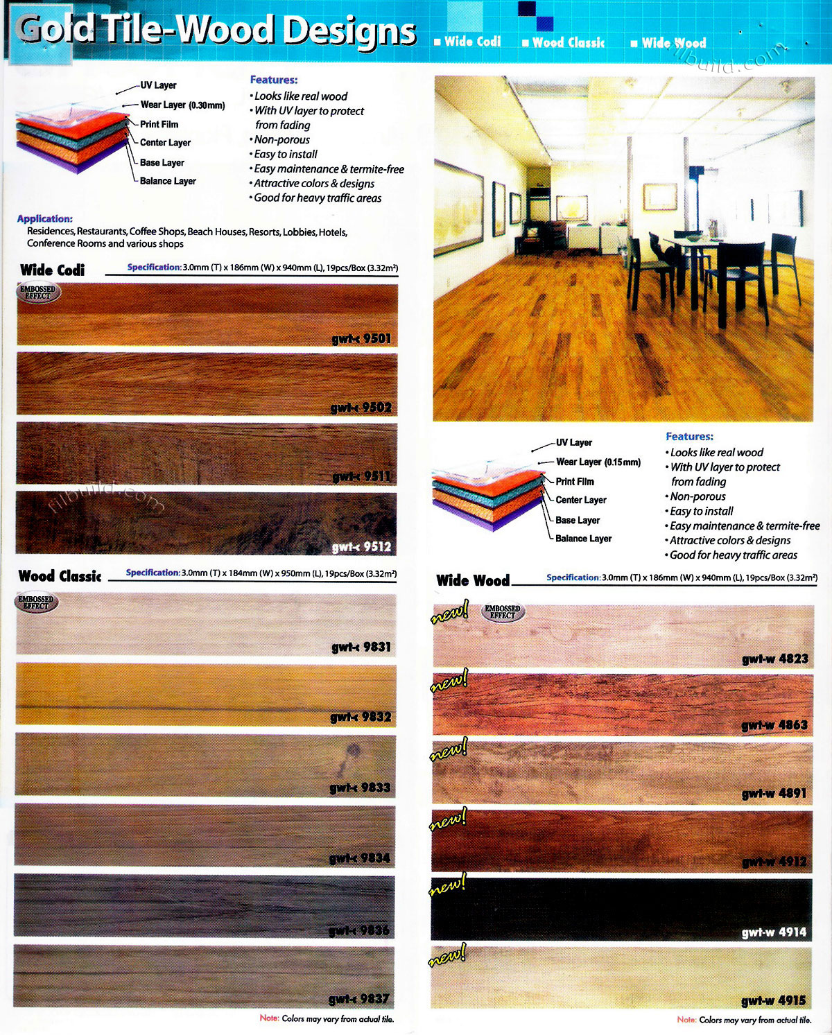 Install termite free vinyl flooring wood planks philippines vinyl wood planks dailygadgetfo Image collections