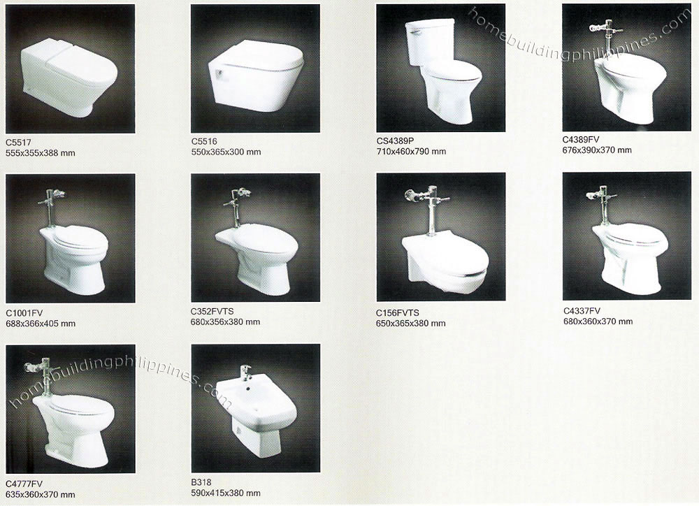 Bathroom toilet styles designs philippines for Washroom style