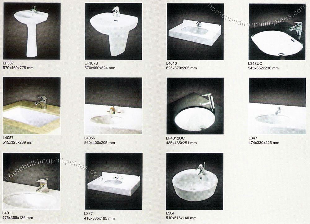 Bathroom Wash Basin Stand Lavatory Design Philippines