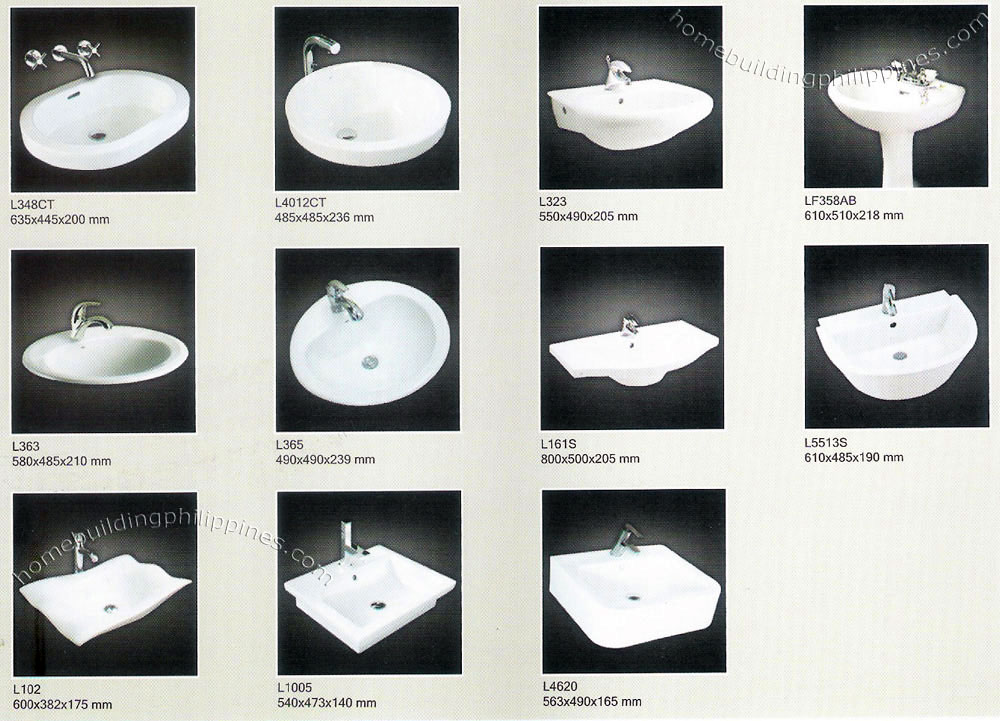 Bathroom Wash Basin Tap Pedestal Lavatory Philippines