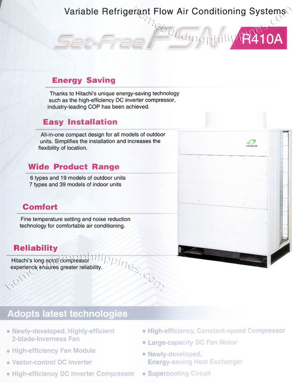 Variable Refrigerant Flow Air Conditioning Systems Philippines