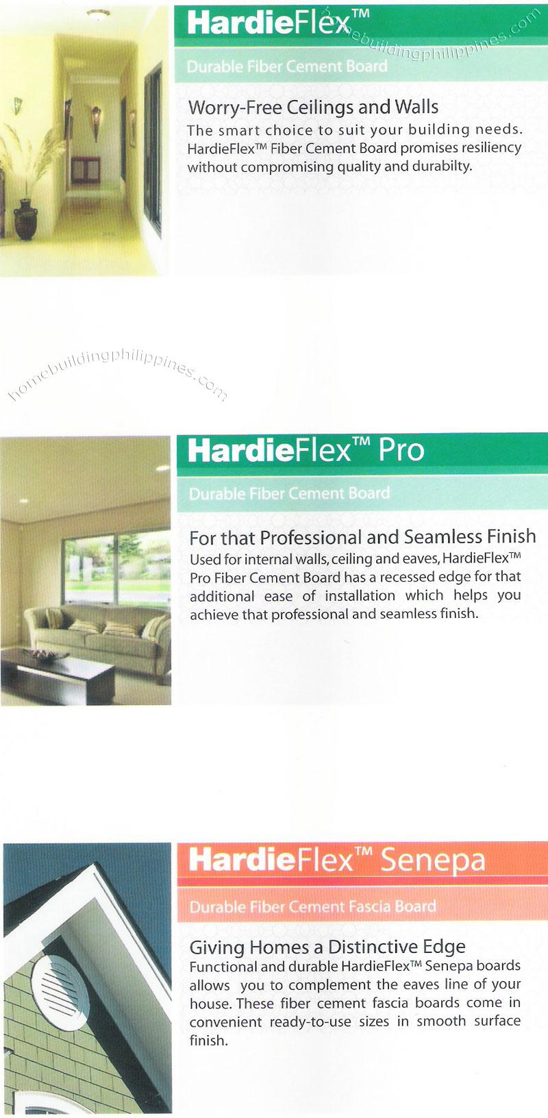 Hardieflex Hardiflex Pro Hardieflex Senepa Philippines