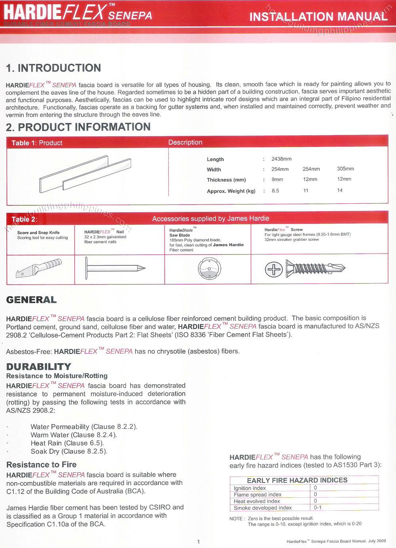 Hardiflex Senepa Fiber Cement Fascia Board Installation