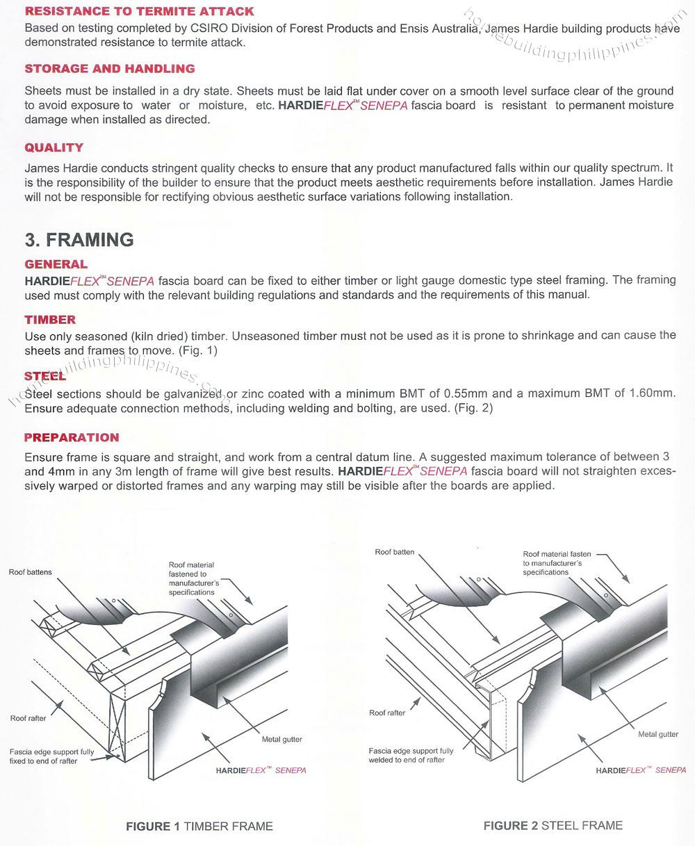 Hardieflex Senepa Durable Fiber Cement Fascia Board