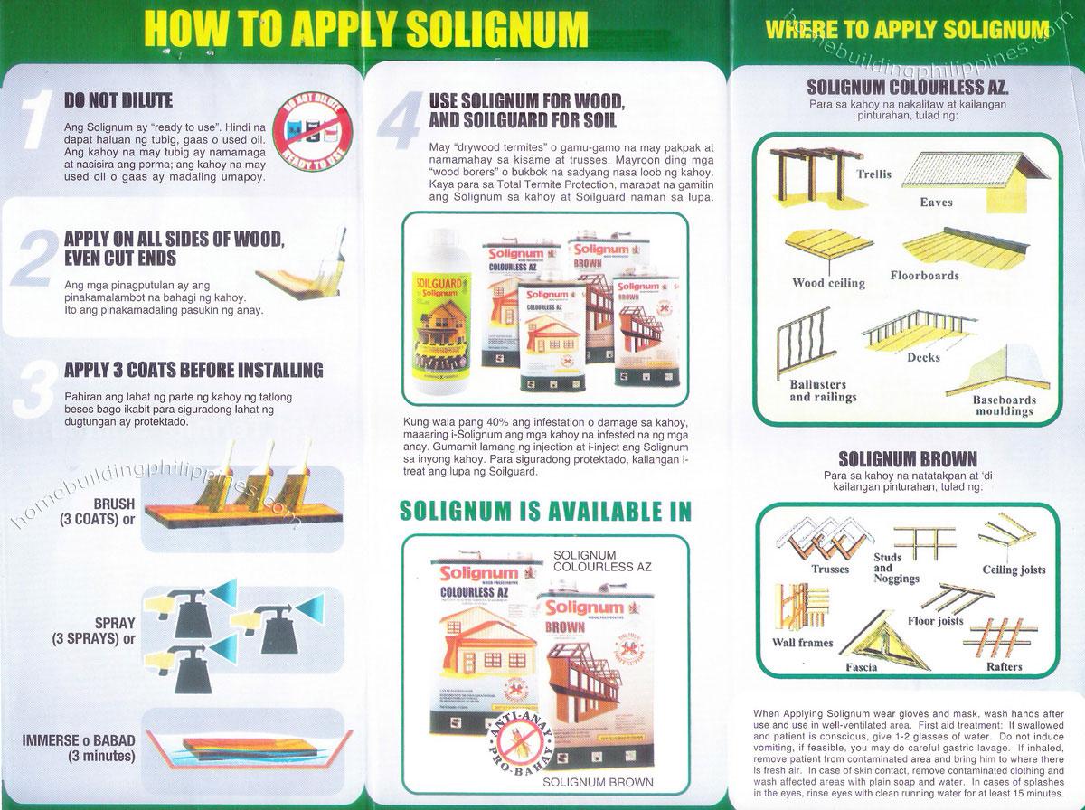 Solignum Soilguard Water Based Termiticide Philippines