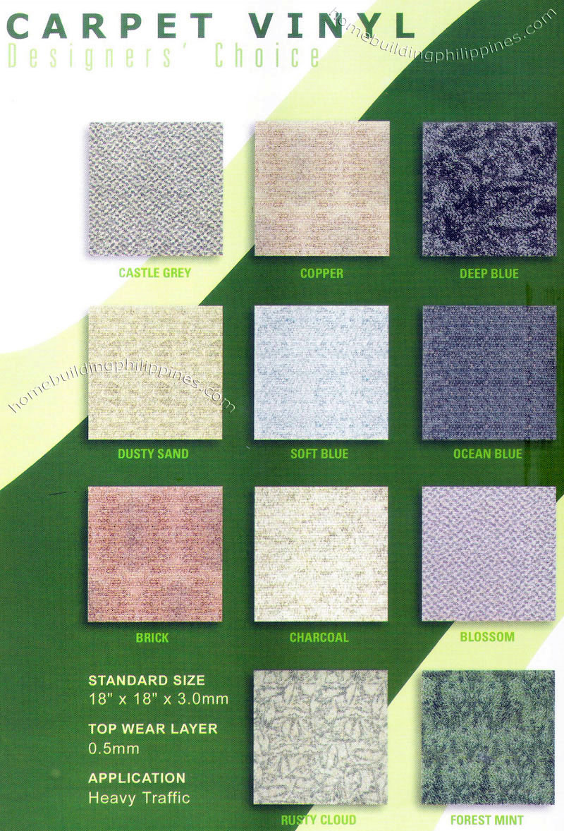 Carpet floor vinyl tile quality home flooring philippines carpet vinyl tile dailygadgetfo Image collections