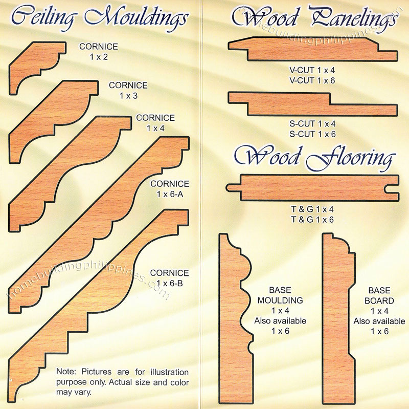 Wood moulding ceiling paneling flooring philippines for Wood trim ceiling ideas