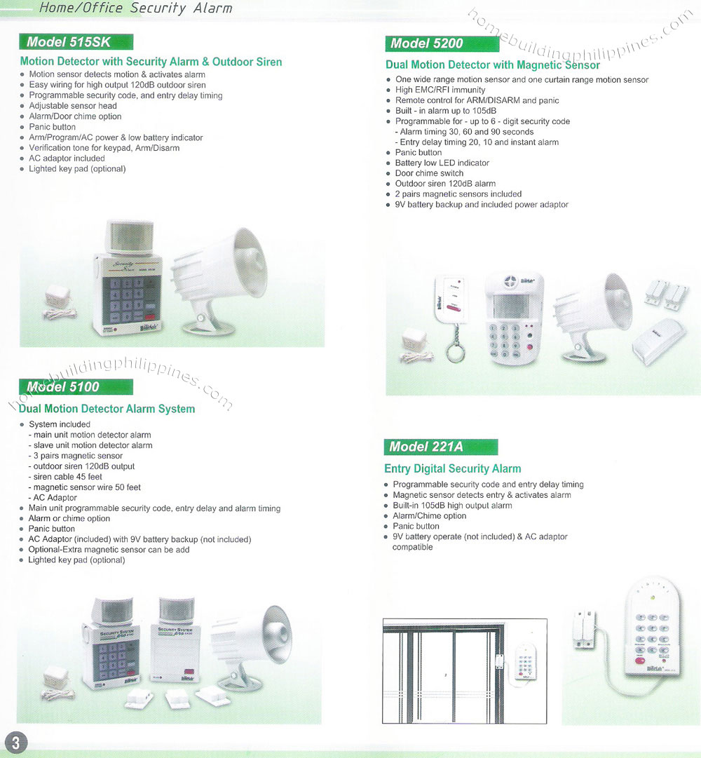 Adt Motion Sensor Wiring Diagram Diagrams Wire Home Office Security Alarm System Philippines Light A
