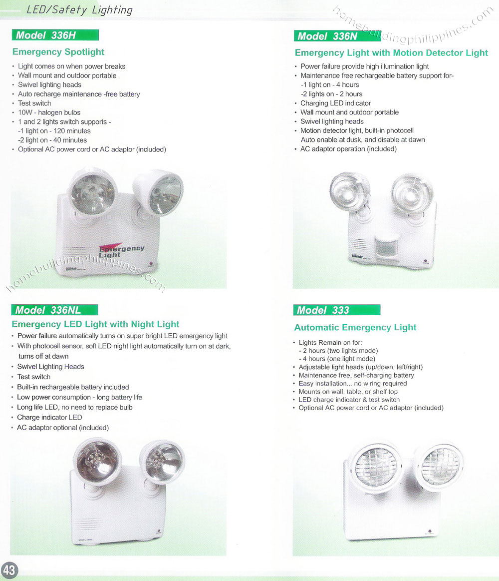Emergency Spotlight Lighting Philippines Led Light Wiring Diagram Free About