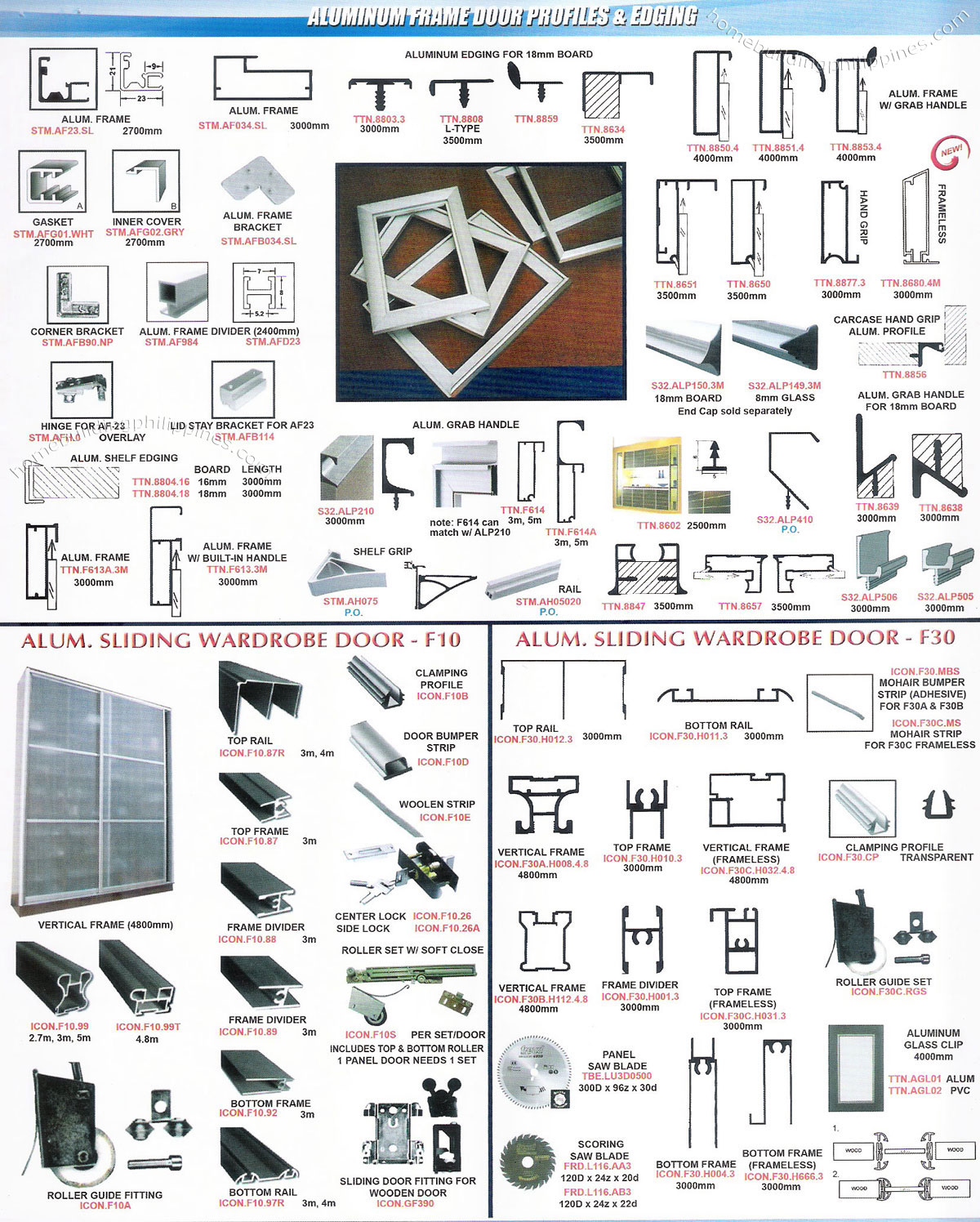 Aluminum Frame Door Profiles Amp Edging By Lexton Philippines