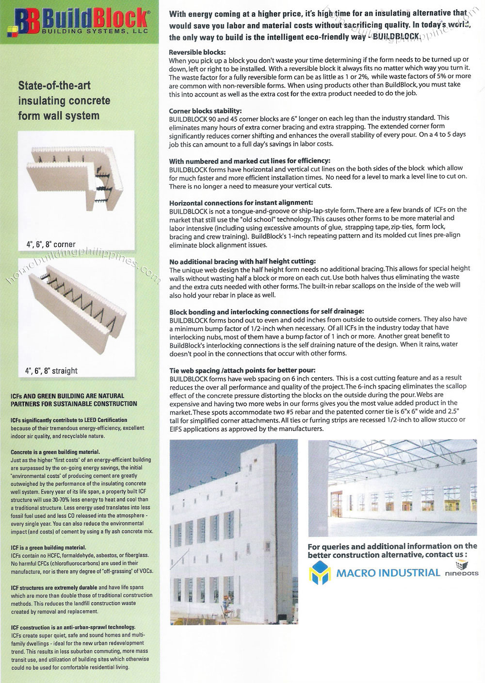 Icf Insulated Concrete Building Forms Philippines