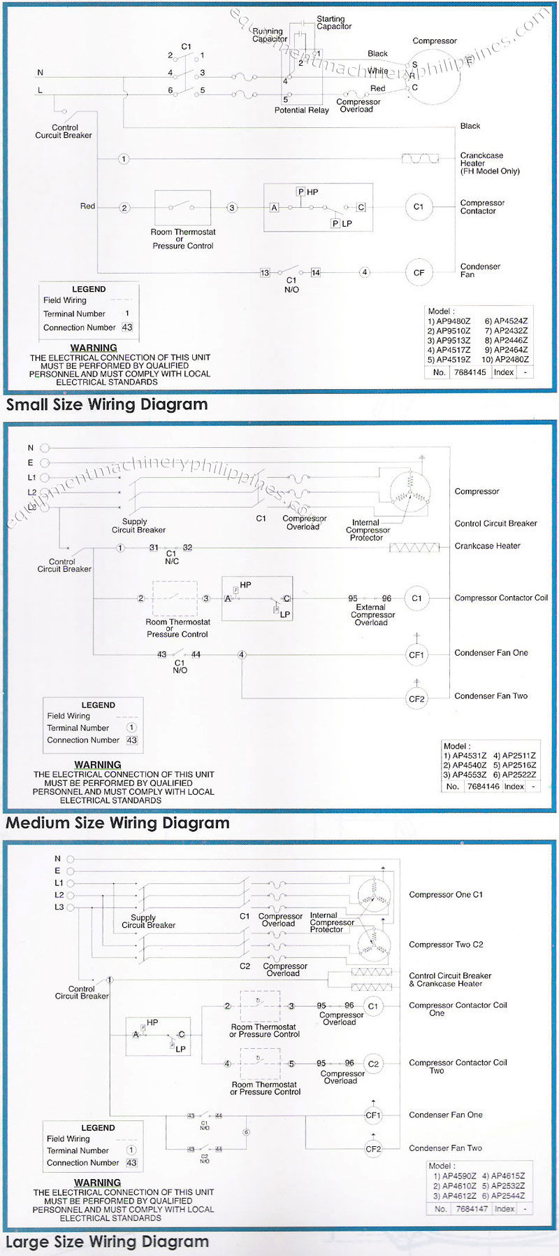 tecumseh packaged refrigeration condensing unit wiring ... walk in refrigerator wiring diagram