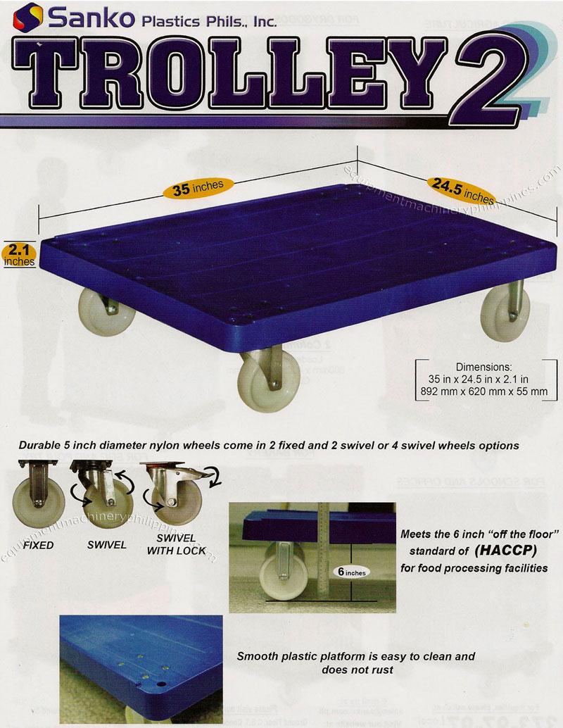 Heavy Duty Trolley Wheels Heavy Duty Plastic Trolley