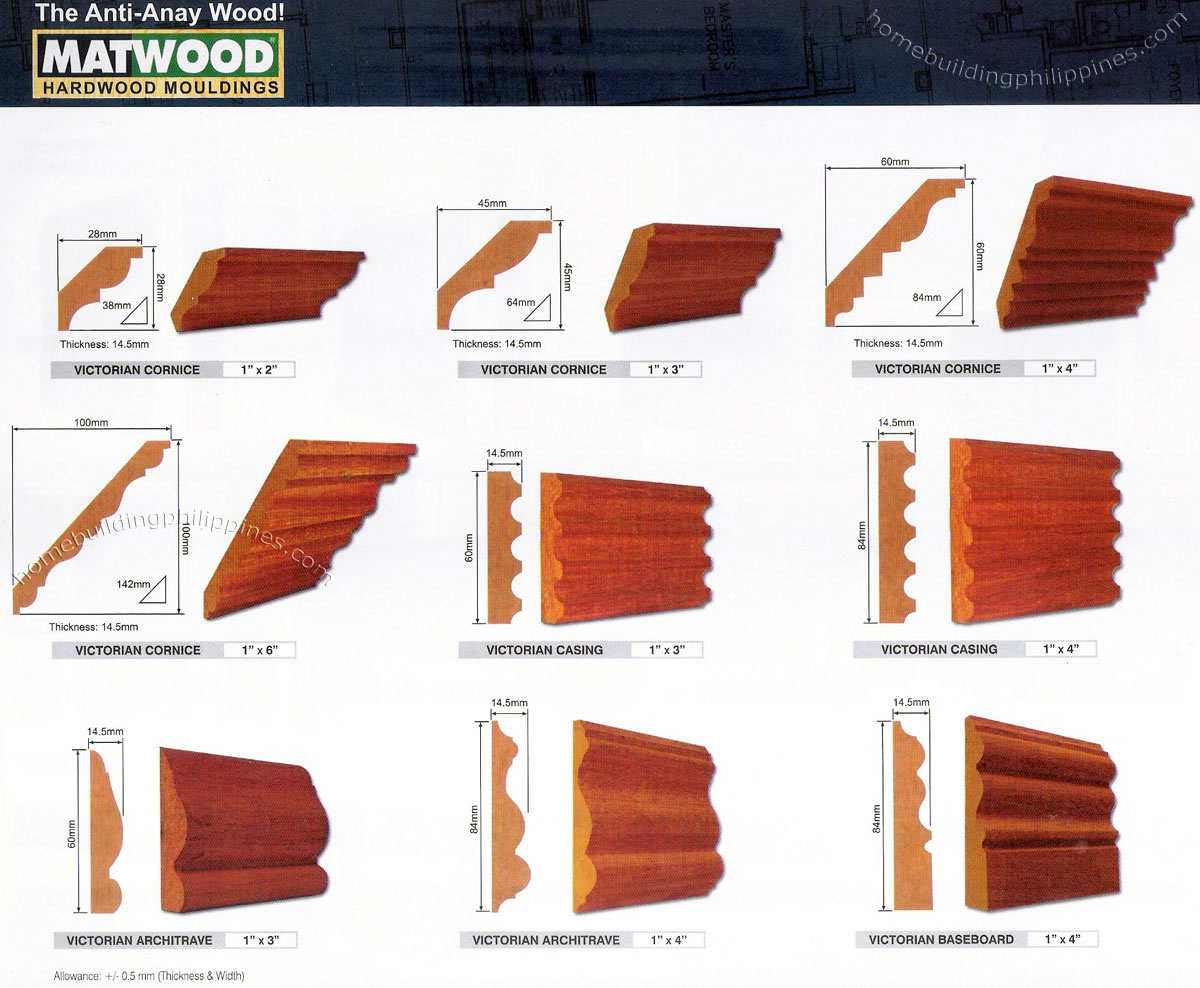 Hardwood Architectural Mouldings Casings Architrave
