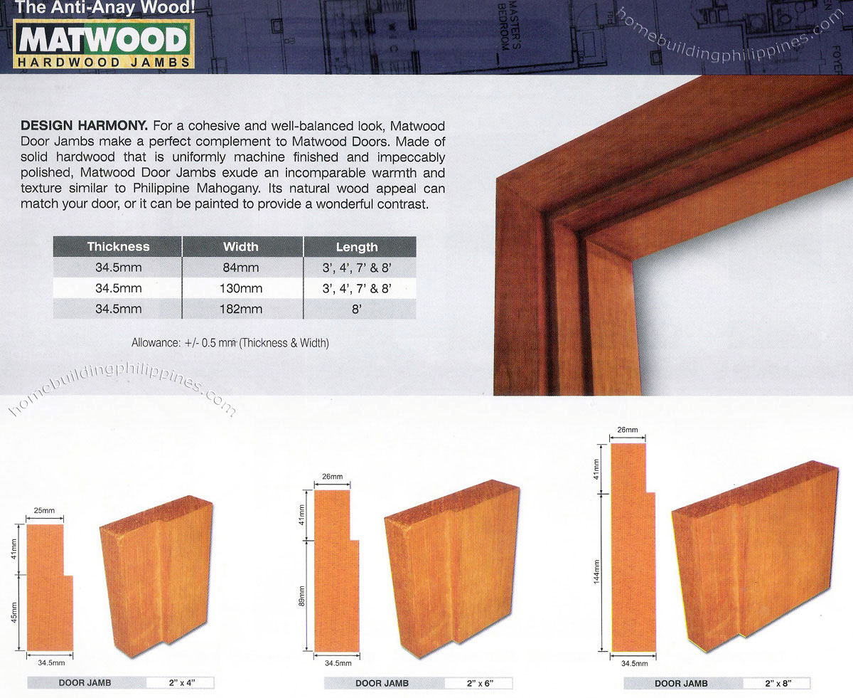 Hardwood door jambs door jamb design philippines - How to build a door jamb for interior doors ...