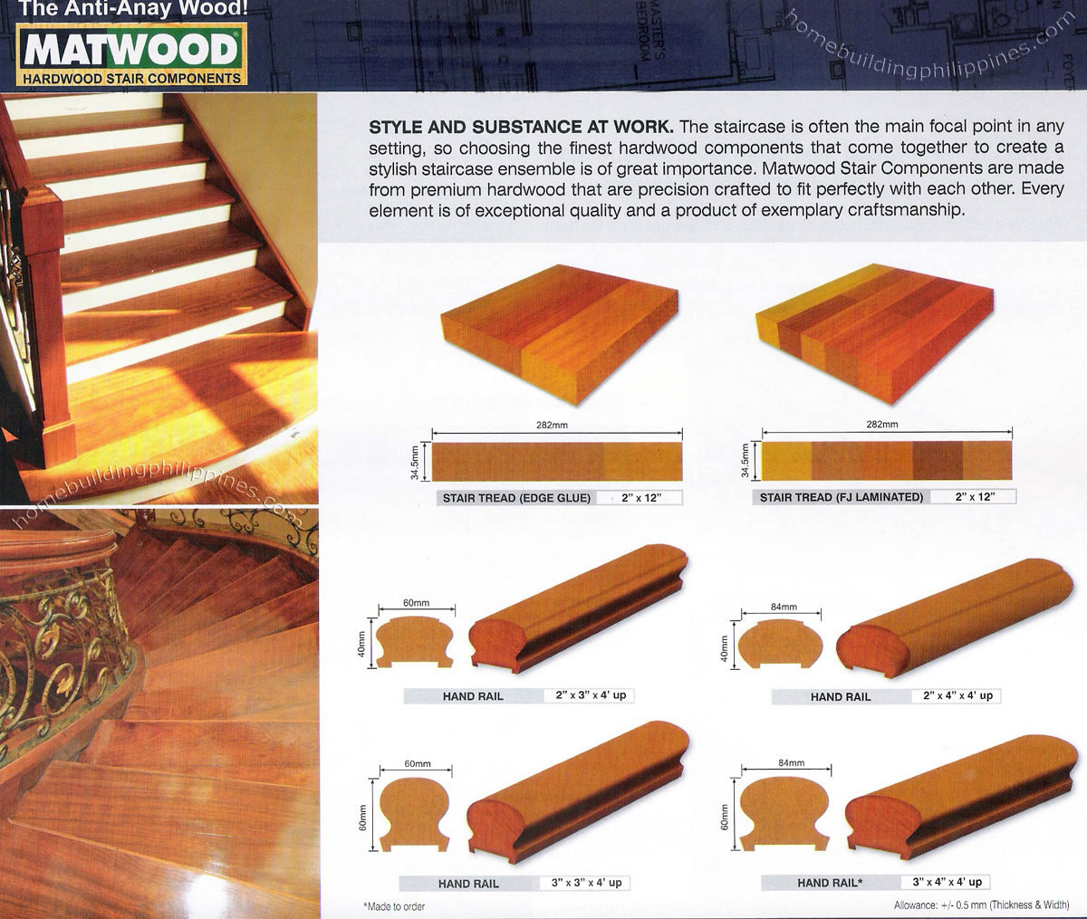 hardwood stair components wood staircase philippines
