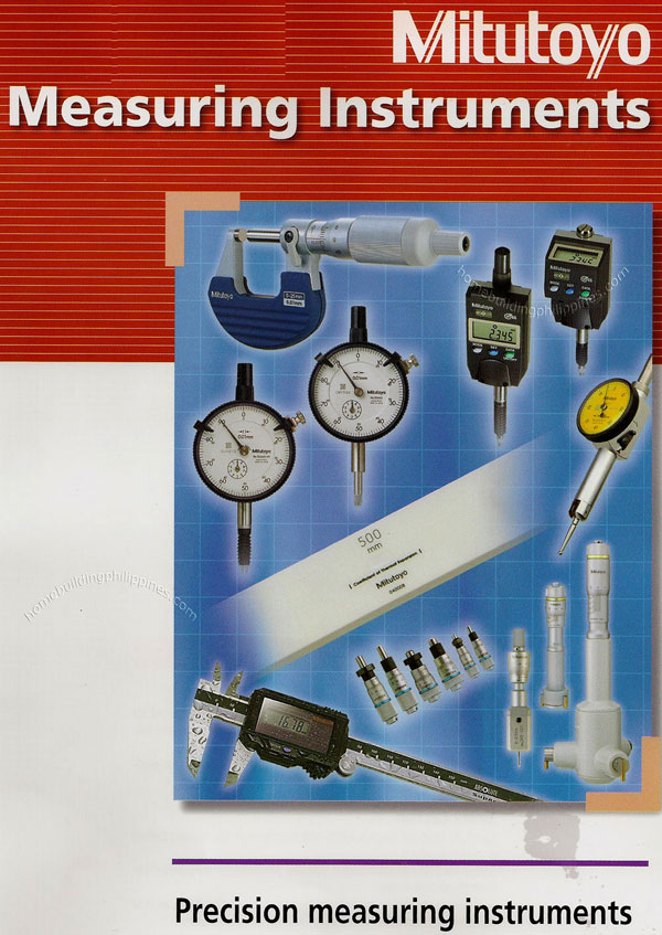 Mitutoyo Measuring Equipment : Mitutoyo precision measuring instruments philippines