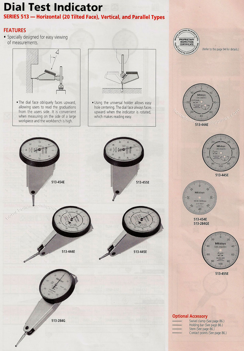 Types Of Dial Indicators : Dial test indicator horizontal vertical and parallel