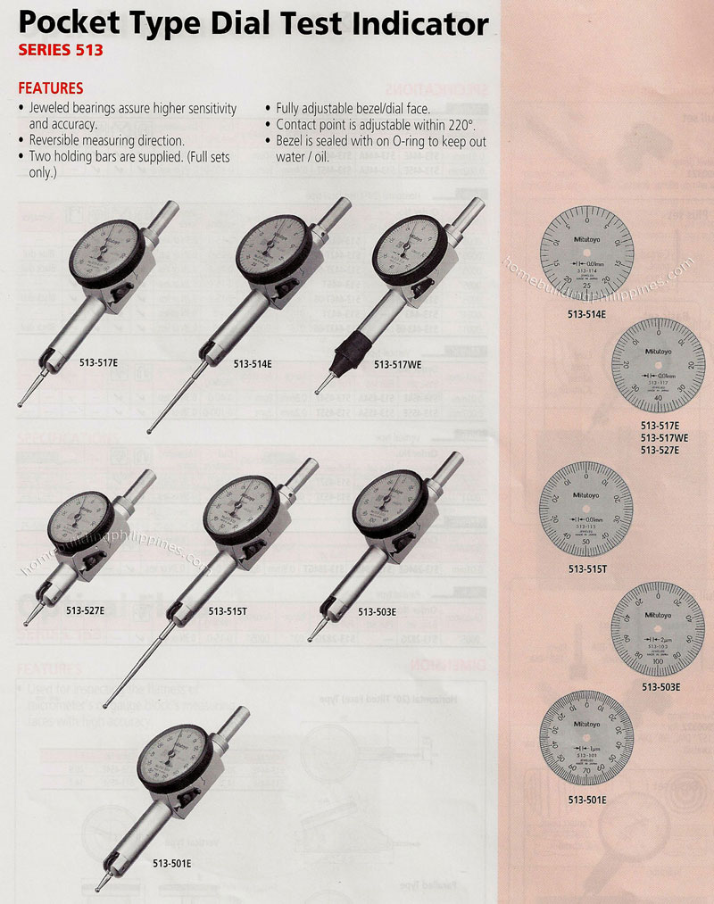 Types Of Dial Indicators : Pocket type dial test indicator philippines