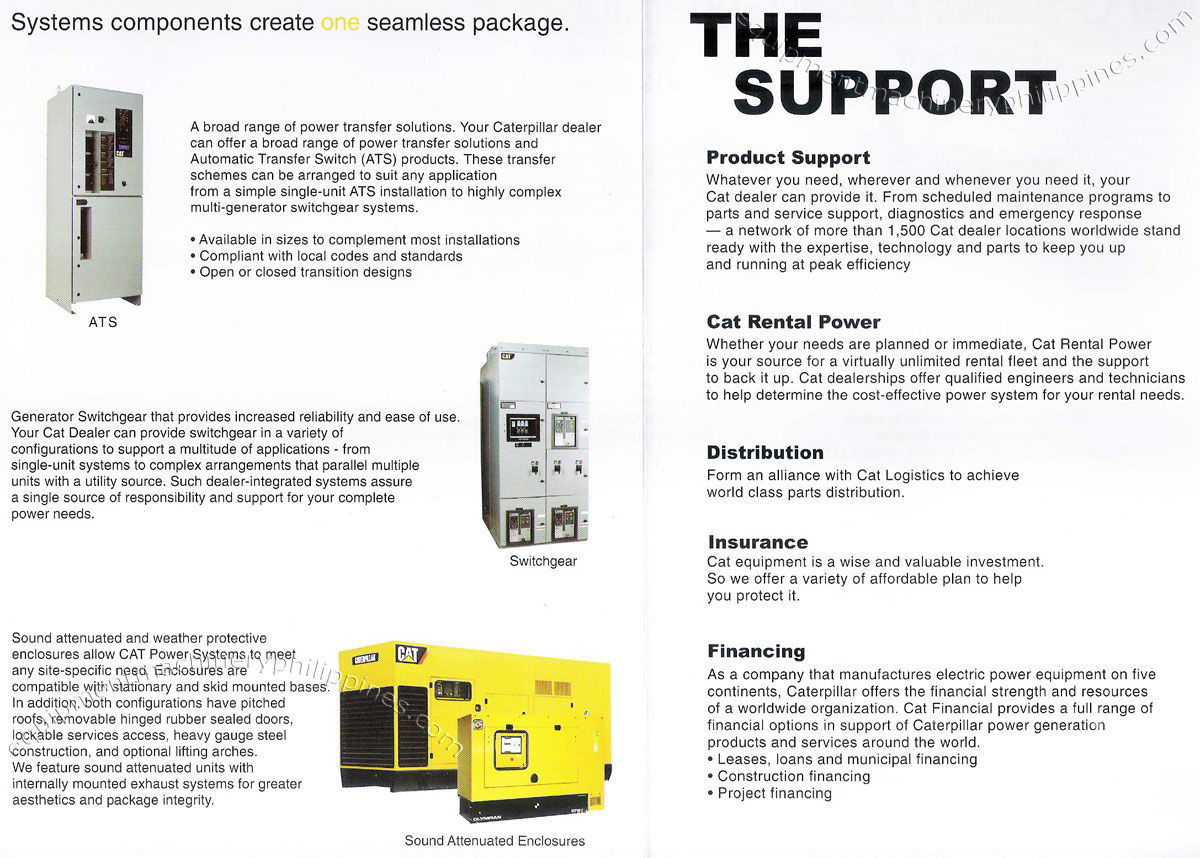 automatic transfer switch, switchgear, sound attenuated enclosures monark  cat product support